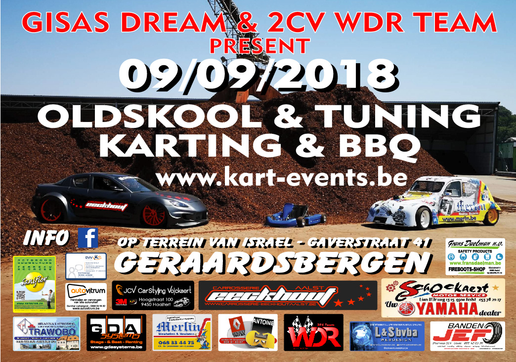 9 september 2018 : Streetkarting Geraardsbergen